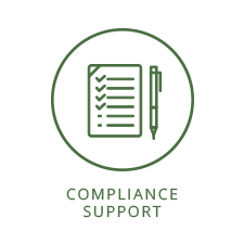 Compliance support
